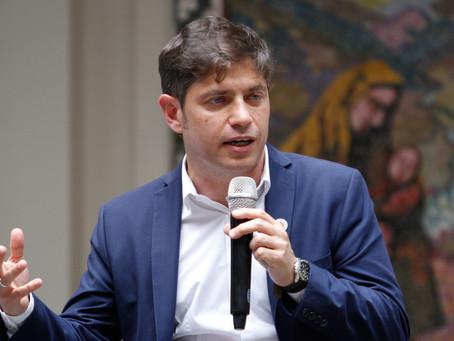 """Kicillof dijo que Macri """"favoreció"""" a la Ciudad de Buenos Aires """"por encima del resto del país"""""""