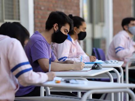 Monte Hermoso | Más de un centenar de alumnos retoman las clases presenciales
