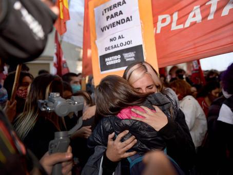 Indagarán a los aprehendidos tras el desalojo en Guernica, que fueron liberados anoche