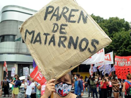 En Argentina hay un femicidio cada 20 horas