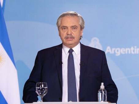 El Presidente confirmó la extensión de las restricciones hasta el 21 de mayo