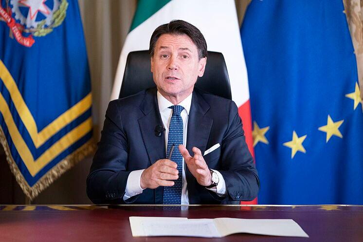 Premier Giuseppe Conte (Foto archivo).