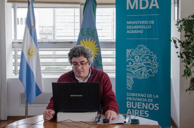 Ministro de Desarrollo Agrario de la Provincia de Buenos Aires, Javier Rodríguez.