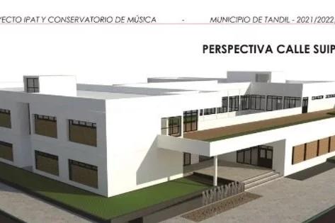 Tandil firmó convenio con la provincia por 341 millones de pesos para construir un conservatorio