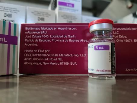Mar del Plata | Llegaron más de 24.000 dosis de la vacuna AstraZeneca