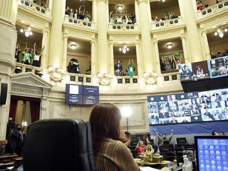 El detalle de cómo votaron los senadores en la histórica sanción de la legalización del aborto
