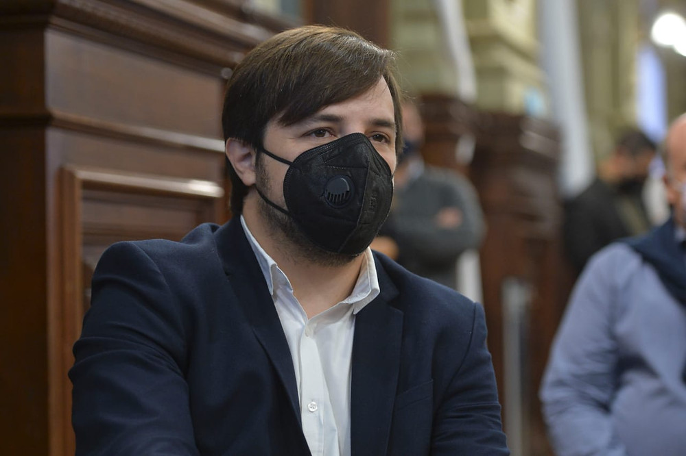Viceministro de Salud bonaerense, Nicolás Kreplak.
