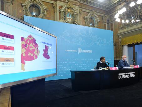 Bianco y Gollan brindarán detalles de la situación epidemiológica en la provincia de Buenos Aires