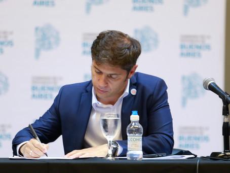 Kicillof envió a Diputados proyecto de moratoria impositiva y régimen simplificado Ingresos Brutos