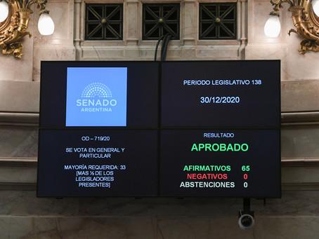 El Plan de los 1.000 Días de asistencia a niños y niñas ya es Ley en Argentina