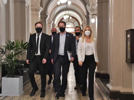 La legislatura bonaerense aprobó el primer presupuesto del Gobernador Axel Kicillof