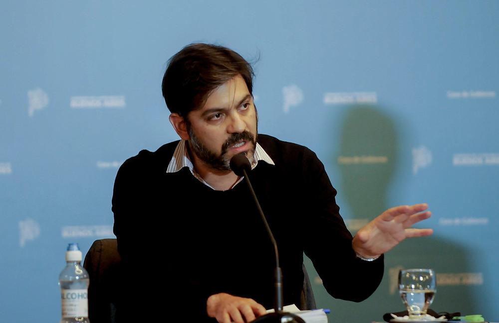 Carlos Bianco, Jefe de Gabinete del Gobierno de la Provincia de Buenos Aires.