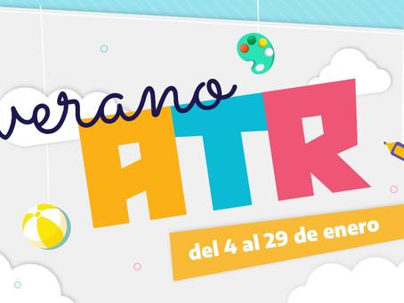 """""""Verano ATR"""": Entrela recreación y el fortalecimiento de los contenidos escolares"""