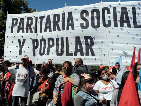 La Plata | Movimiento popular arribó a la ciudad capital para presentar petitorio a Kicillof