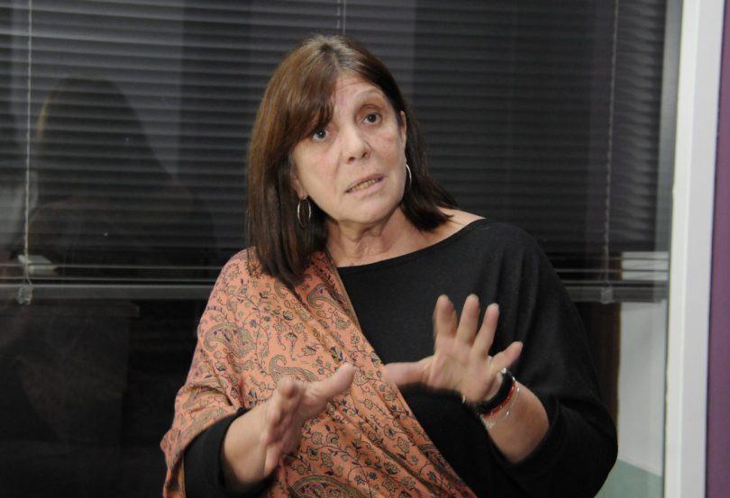 Ministra de Gobierno bonaerense, Teresa García.