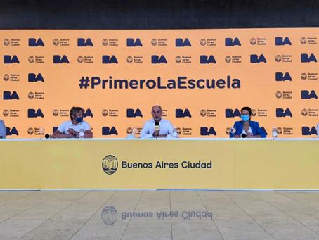 El Gobierno porteño informó que no cerrará escuelas ante un caso positivo de coronavirus