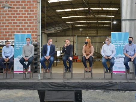 25 de Mayo | El Gobierno bonaerense lanzó el Programa de Recuperación Productiva 2021