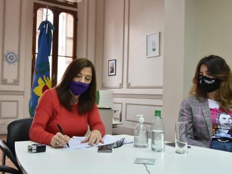 San Vicente y Pilar cuentan con el Fondo de Emergencia en Violencias por Razones de Género