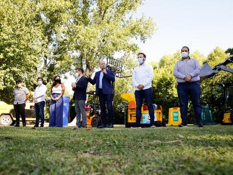 Lomas de Zamora | Cabandié entregó equipos por 100 millones de pesos para gestionar residuos sólidos