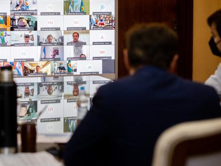 Kicillof y los Intendentes coincidieron en la necesidad de aplicar mayores restricciones