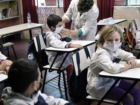 Por el rebrote de casos, desde hoy no es obligatoria la asistencia presencial a clases en Uruguay