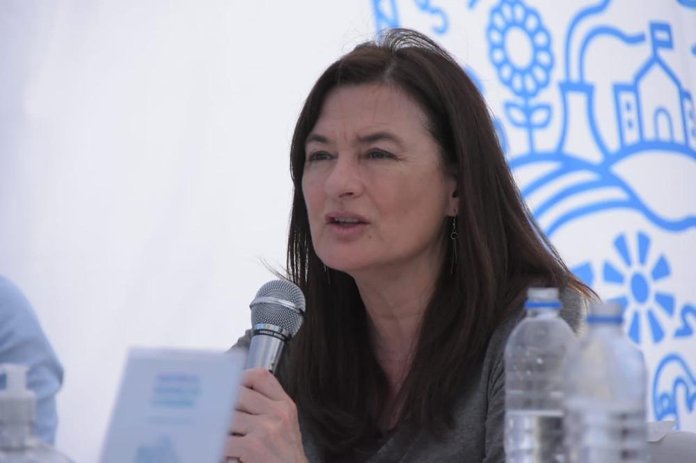 Ministra de las Mujeres, Políticas de Género y Diversidad Sexual, Estela Díaz.