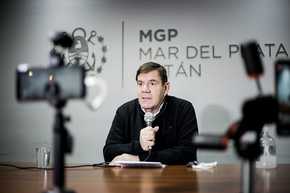 Intendente Guillermo Montenegro.