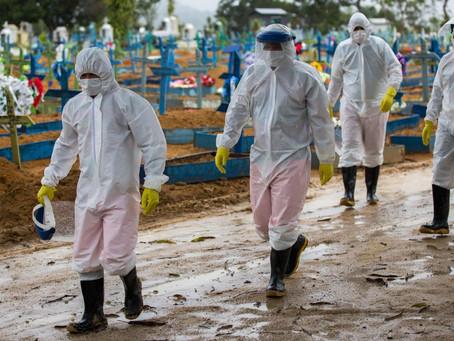 Brasil   El 79% de la población considera que la pandemia está descontrolada y 82% teme contagiarse