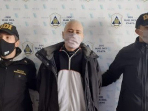 Mar del Plata   Estaba prófugo por tentativa de homicidio y fue detenido cuando se fue a vacunar