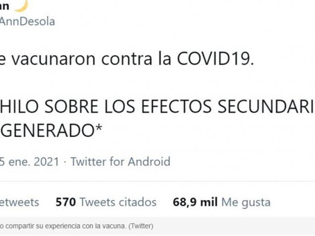 Twitter cancelará las cuentas que difundan noticias falsas sobre vacunas anticovid