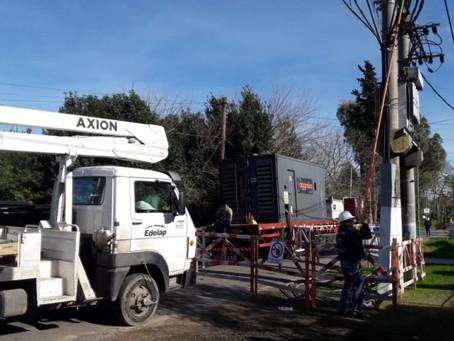 Detectan conexiones ilegales en la red eléctrica en un barrio del partido de La Plata