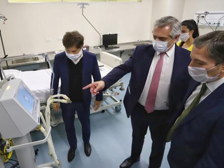 Kicillof participó de la inauguración del Hospital del Bicentenario de Esteban Echeverría