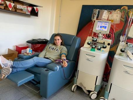 Las Superheroínas de la donación de plasma