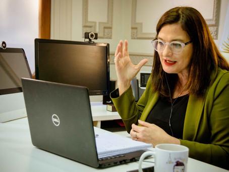 """Estela Díaz: """"Hay que desarmar un sistema desigual"""""""