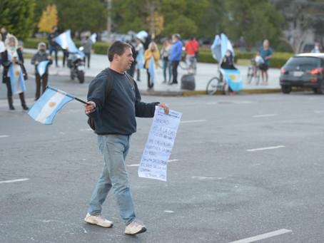 Marchas en diferentes ciudades bonaerenses en contra del confinamiento