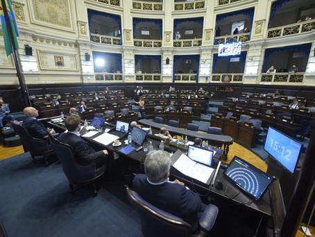 Diputados aprueban la ley de Financiamiento que propuso el Gobernador Kicillof