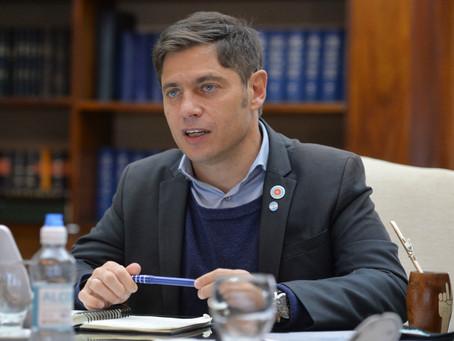 Kicillof aseguró que la actividad económica creció un 4,5 por ciento