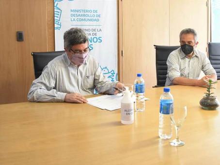 El Gobierno bonaerense renovó fondos de asistencia a asociaciones sin fines de lucro