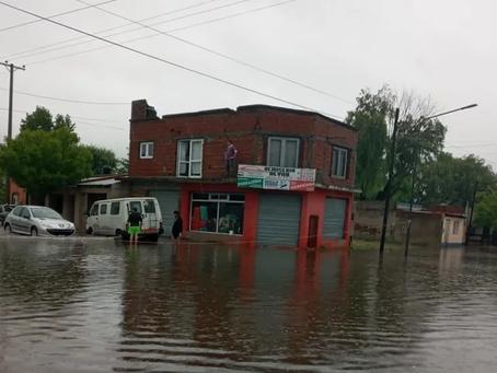Dolores   Envían asistencia a damnificados por el temporal