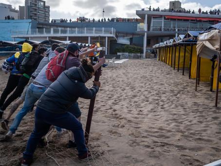 Mar del Plata | Denuncian en la Justicia los destrozos ocasionados en un balneario