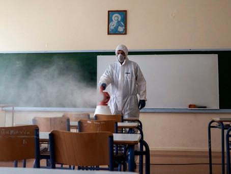 Grecia suspende las clases por dos semanas para frenar los contagios de coronavirus