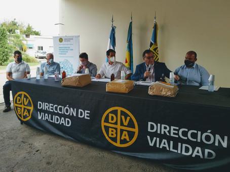 Licitan obras viales para los municipios de Escobar, Berazategui, Baradero y La Plata