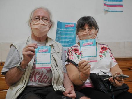 Ya se aplicaron más de 500 mil vacunas contra el COVID-19 en la Provincia de Buenos Aires