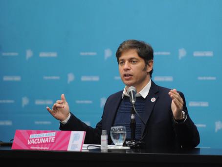 Buenos Aires | Desde mañana habrá vacuna libre para mayores de 35 años