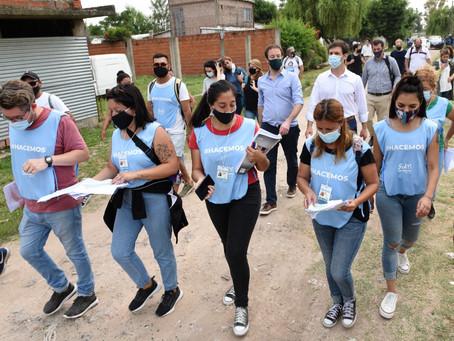 San Vicente | El Ministro de Hacienda bonaerense supervisó operativo pre censal