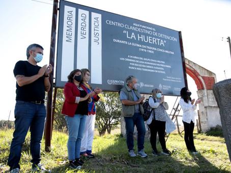 Tandil | Reseñalizan centro clandestino donde estuvieron cautivas 70 víctimas de la dictadura