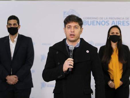 Kicillof inauguró junto al presidente Alberto Fernández nuevas obras para el sistema penitenciario