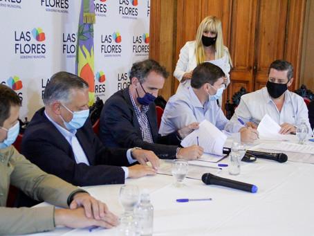 Katopodis recorrió obras del Plan Argentina Hace en tres distritos bonaerenses