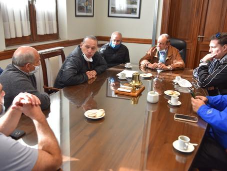 Berni supervisó el funcionamiento de los Comités de Crisis de Tandil, Tres Arroyos y Bahía Blanca