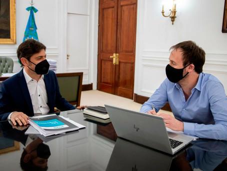 """El gobierno de Kicillof confirma que las conversaciones con los bonistas están """"interrumpidas"""""""